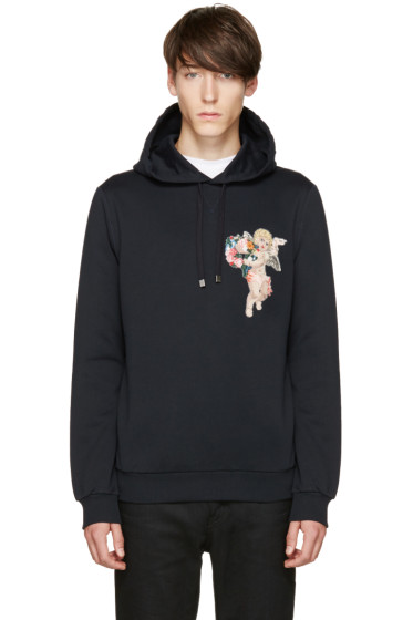 Dolce & Gabbana - Navy Cherub Hoodie