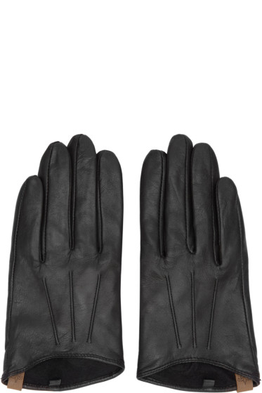 Mackage - Black Lambskin Alisee Gloves