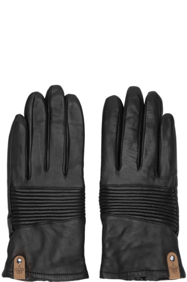Mackage - Black Lambskin Nira Gloves