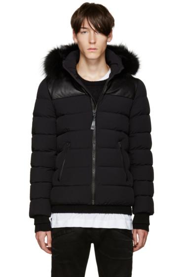 Mackage - SSENSE Exclusive Black Down Ronin Coat
