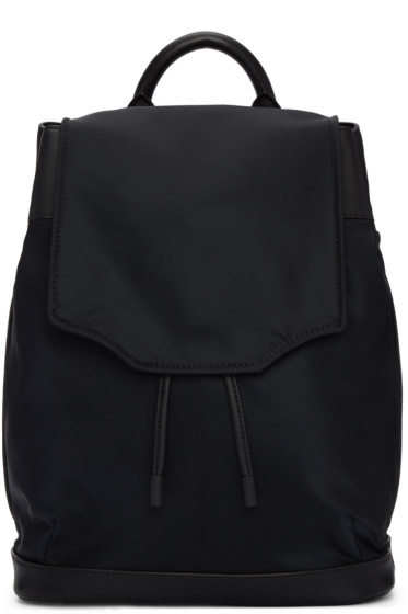 Rag & Bone - Black Nylon Pilot Backpack