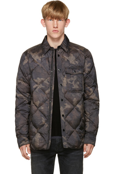 Rag & Bone - Black Camo Mallory Jacket