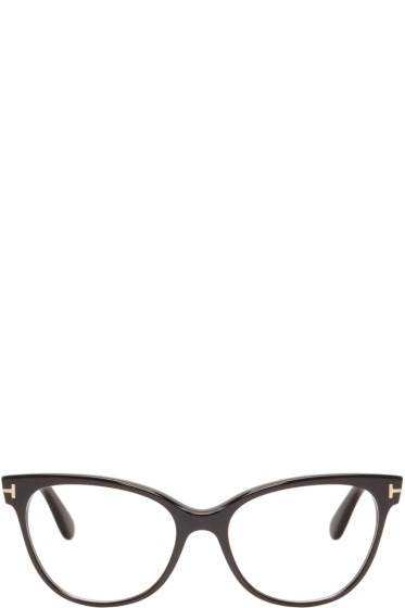 Tom Ford - Black TF5291 Cat-Eye Optical Glasses