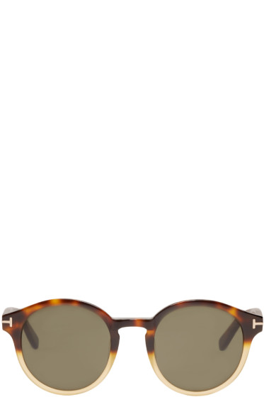 Tom Ford - Tortoiseshell Lucho Sunglasses
