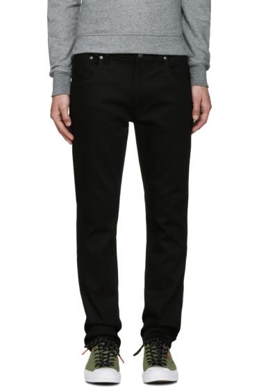 Nudie Jeans - Black Thin Finn Jeans