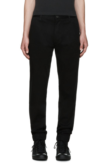 Levi's - Black Chino Jogger Trousers