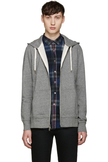 Levi's - Grey Original Zip-Up Hoodie