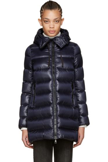 Moncler - Navy Down Suyen Coat