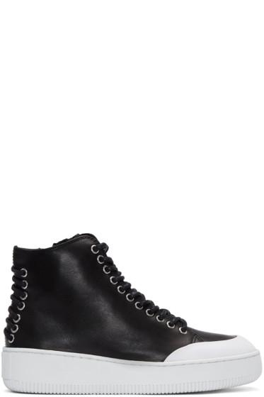 McQ Alexander Mcqueen - Black Netil High-Top Sneakers