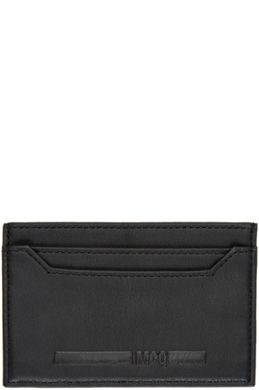 McQ Alexander Mcqueen - Black Logo Card Holder