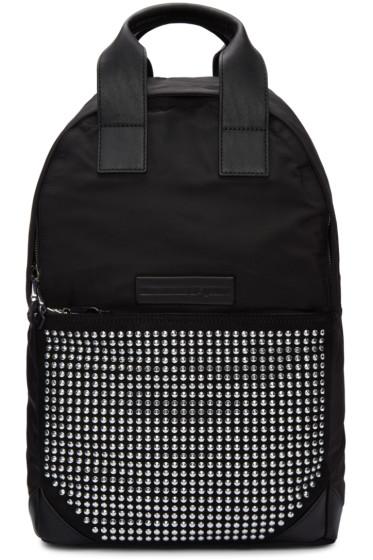 McQ Alexander Mcqueen - Black Studded Backpack