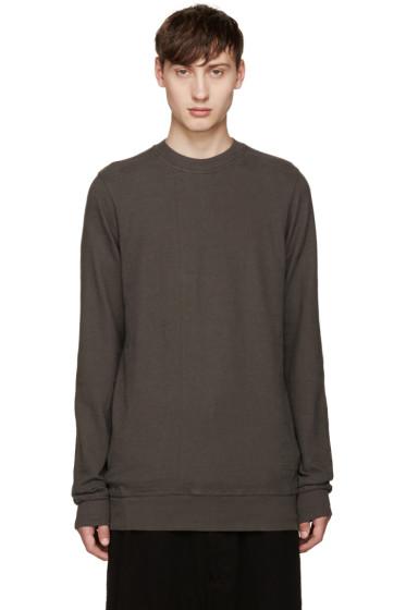 Rick Owens Drkshdw - Grey Regular Pullover