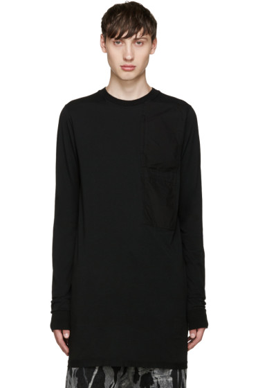 Rick Owens Drkshdw - Black Pocket T-Shirt