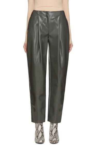 Acne Studios - Grey Selah Varnish Trousers