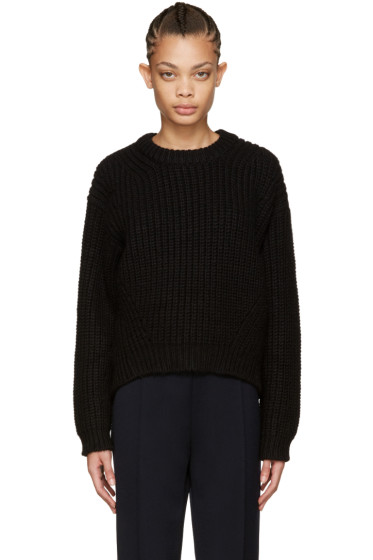 Acne Studios - Black Wool Hira Sweater