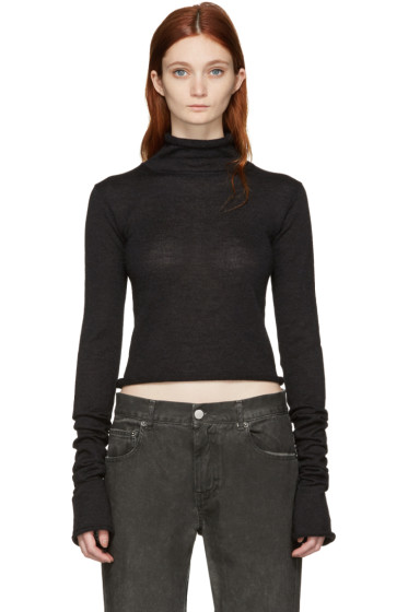 Acne Studios - Black Jiao Turtleneck