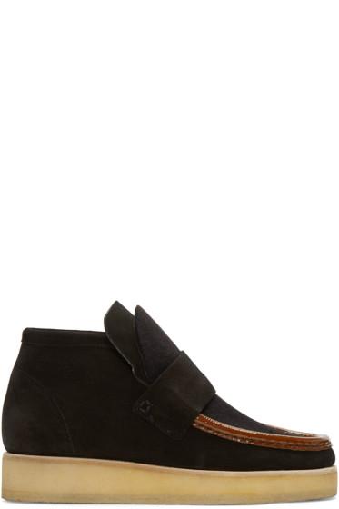Acne Studios - Black Suede Kingston Boots