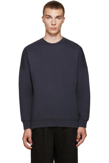 Acne Studios - Navy Font Sweatshirt