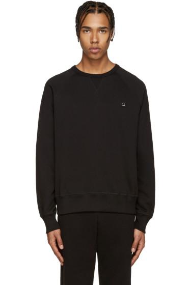 Acne Studios - Black College Face Sweatshirt