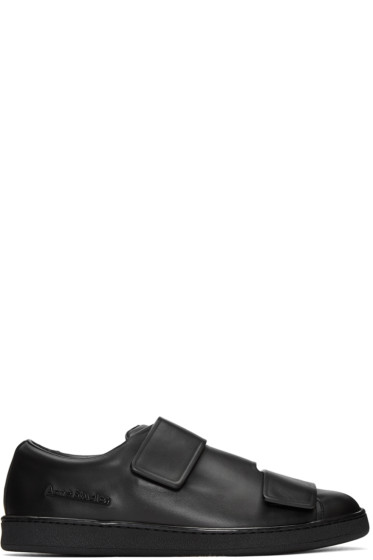 Acne Studios - Black Triple Lo Sneakers