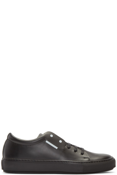 Acne Studios - Black Adrian Smiley Sneakers