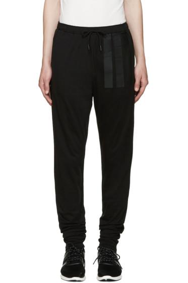 Y-3 - Black Long John Lounge Pants