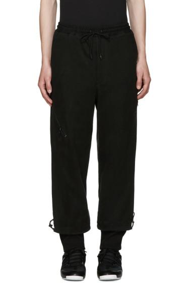 Y-3 - Black Grain JSY Lounge Pants