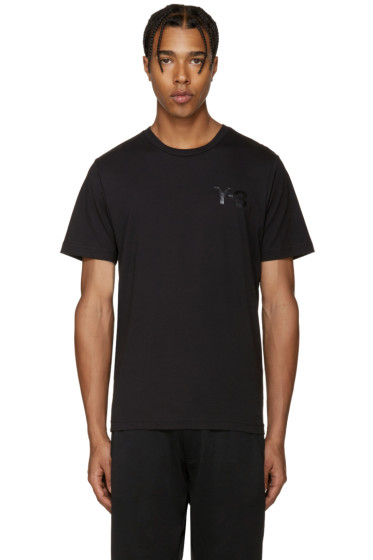 Y-3 - Black Logo T-Shirt
