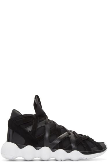 Y-3 - Black Kyujo High-Top Sneakers