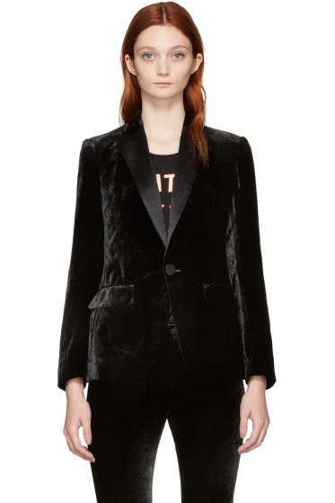 Dsquared2 - Black Velvet London Blazer
