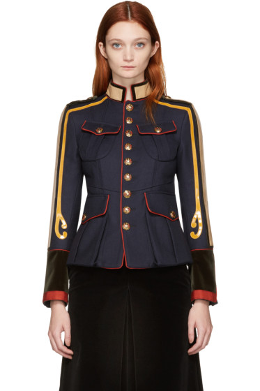 Dsquared2 - Navy Military Jacket