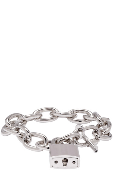 Dsquared2 - Silver Lock Chain Bracelet
