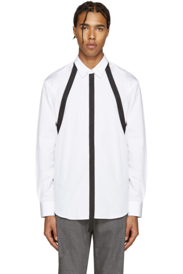 Dsquared2 - White Straps Relax Dan Shirt