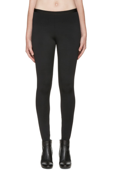 Helmut Lang - Black Neoprene Technical Leggings
