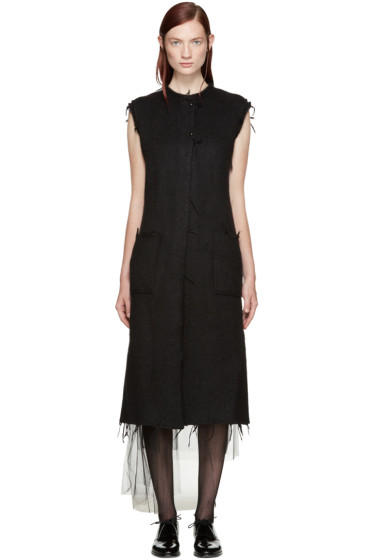 Maison Margiela - Black Wool Vest