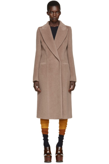 Maison Margiela - Brown Alpaca Coat