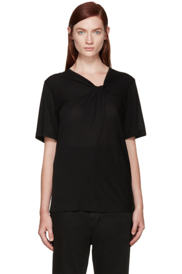 Maison Margiela - Black Knot Twist T-Shirt