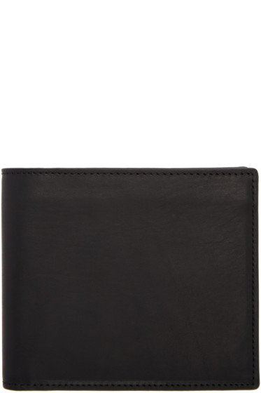 Maison Margiela - Black Logo Wallet