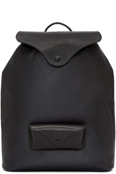Maison Margiela - Black Glasses Case Backpack