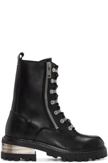 Maison Margiela - Black Combat Boots