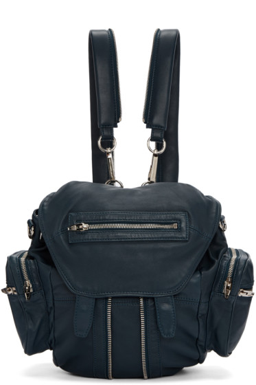 Alexander Wang - Blue Mini Marti Backpack