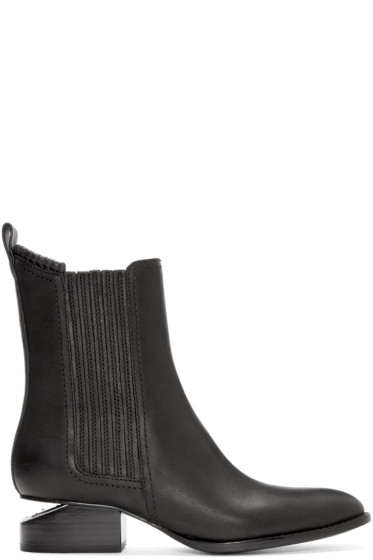 Alexander Wang - Black Anouck Ankle Boots
