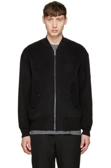Alexander Wang - Black Patches Bomber Jacket