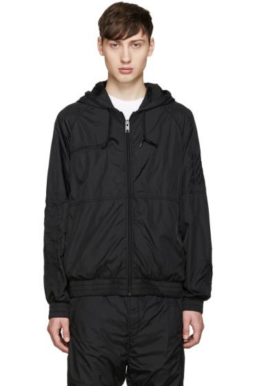 Alexander Wang - Black Embroidered Nylon Jacket