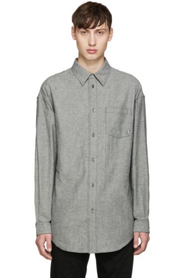 Alexander Wang - Grey Dollar Sign Shirt