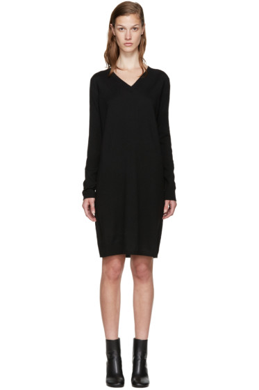 MM6 Maison Margiela - Black Wool Dress