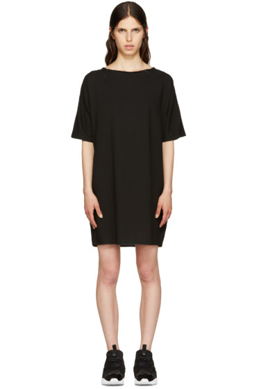 MM6 Maison Margiela - Black Woven Dress