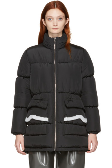 MM6 Maison Margiela - Black Puffer Coat