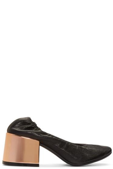 MM6 Maison Margiela - Black Ballet Heels