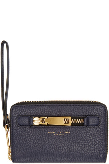 Marc Jacobs - Navy Gotham City Wallet